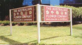 Australian Flower Company - Vee Sign