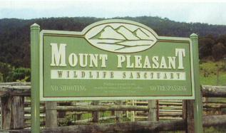 Mount Pleasant - Integrated Timber Engraved Sign
